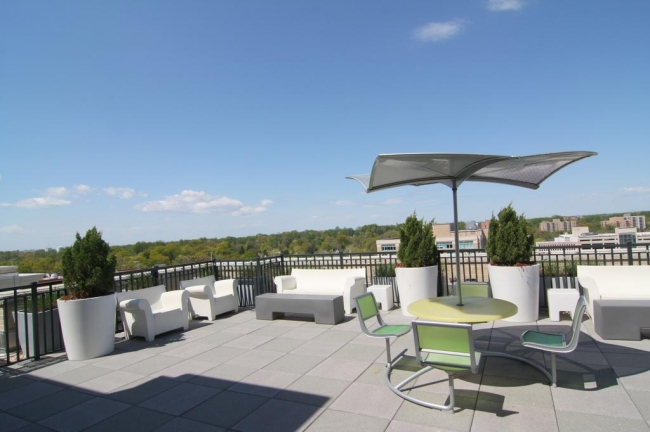 The Lionsgate spectacular rooftop terrace