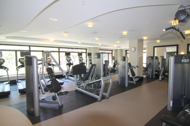 Lionsgate condominium community fitness center